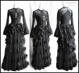 Blouse, bustle, skirt, somnia romantica by M Turin