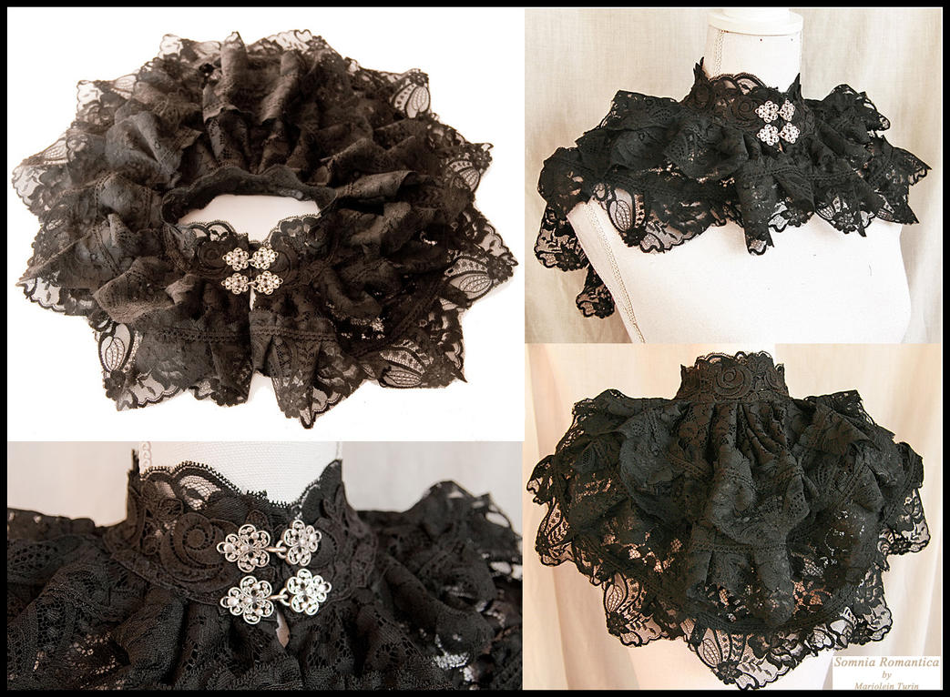 Lace collar, Somnia Romantica by Marjolein Turin by SomniaRomantica