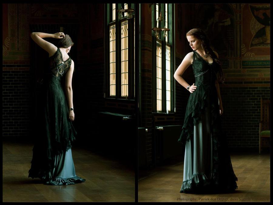 Dress Sepiolite dark, Somnia Romantica by M. Turin by SomniaRomantica