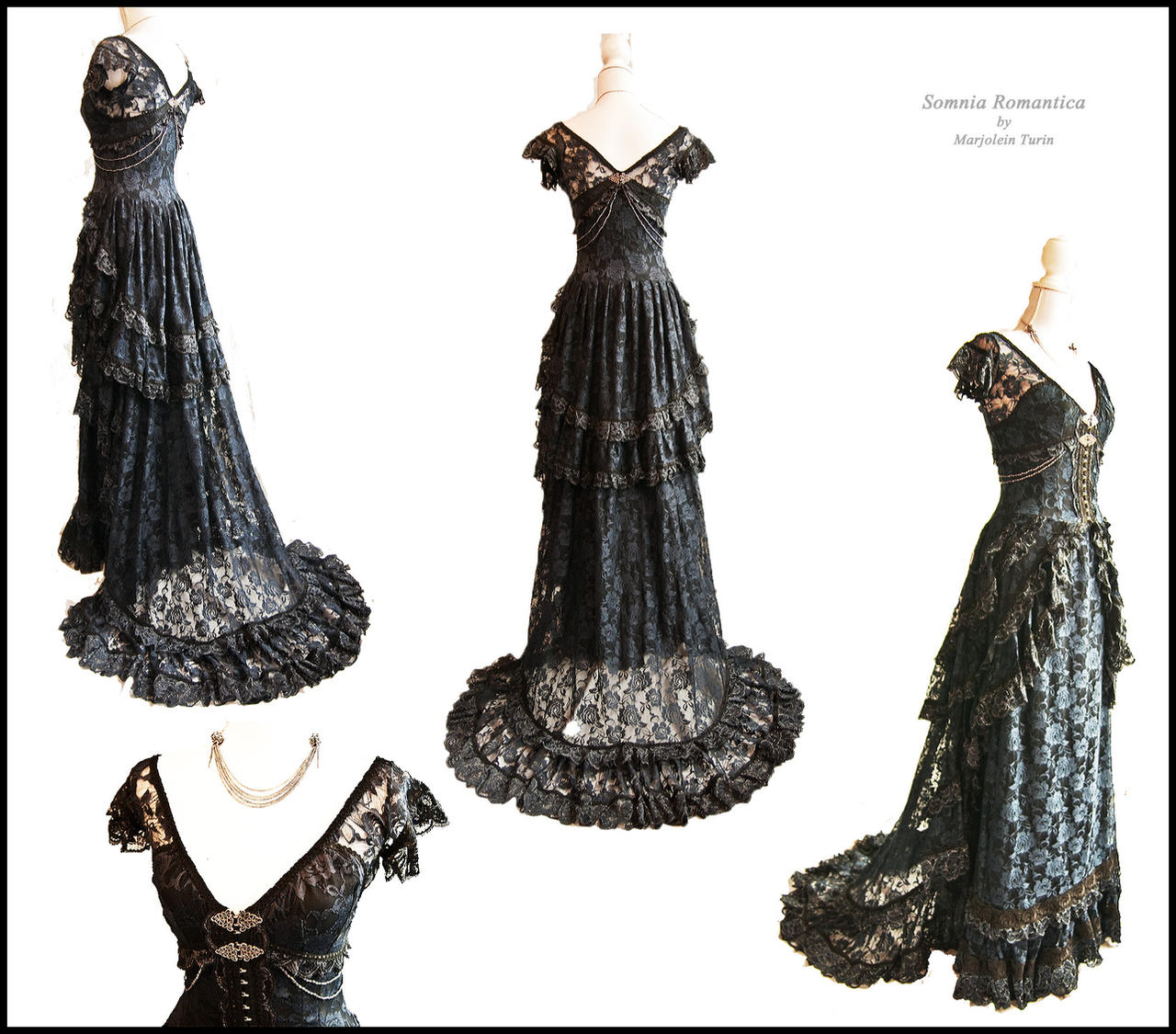 Dress Mariposa,Somnia Romantica by Marjolein Turin by SomniaRomantica