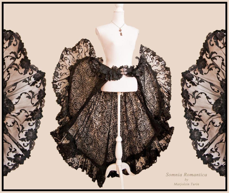 Skirt Savona flared, Somnia Romantica by M. Turin by SomniaRomantica