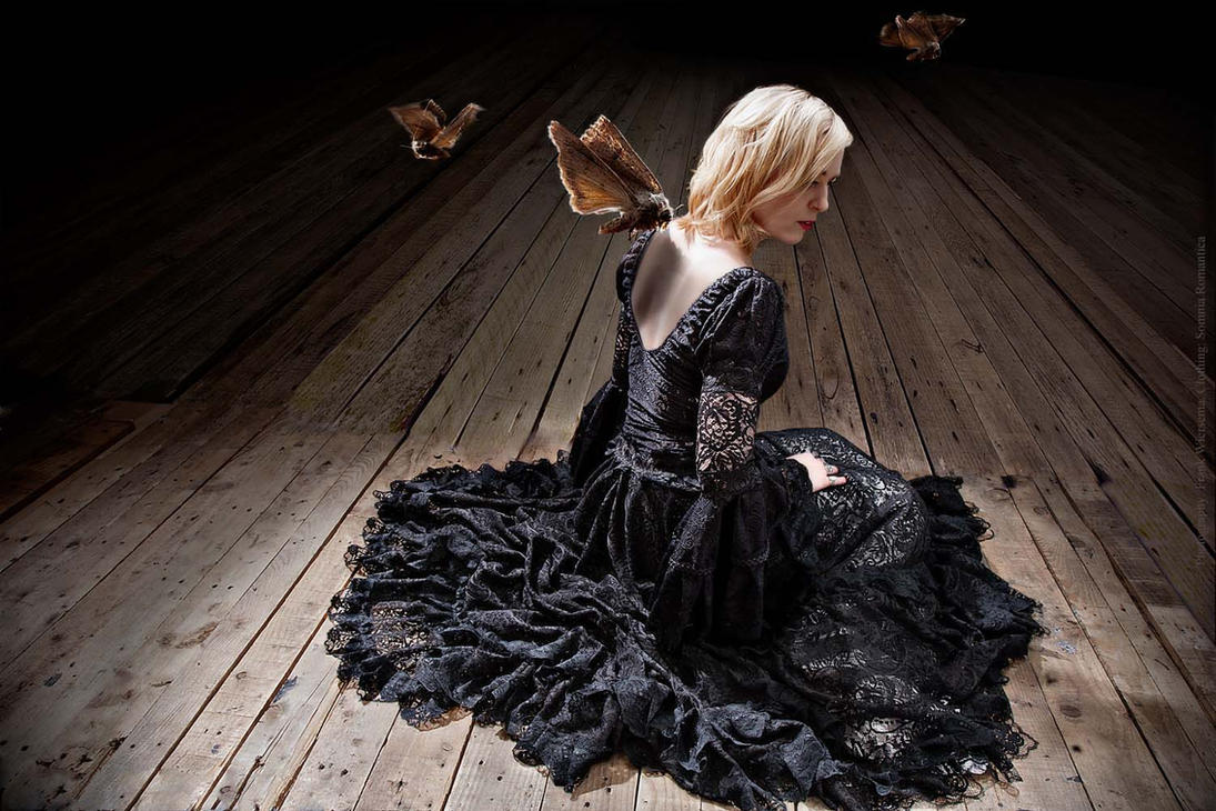dress black , Somnia Romantica by Marjolein Turin by SomniaRomantica