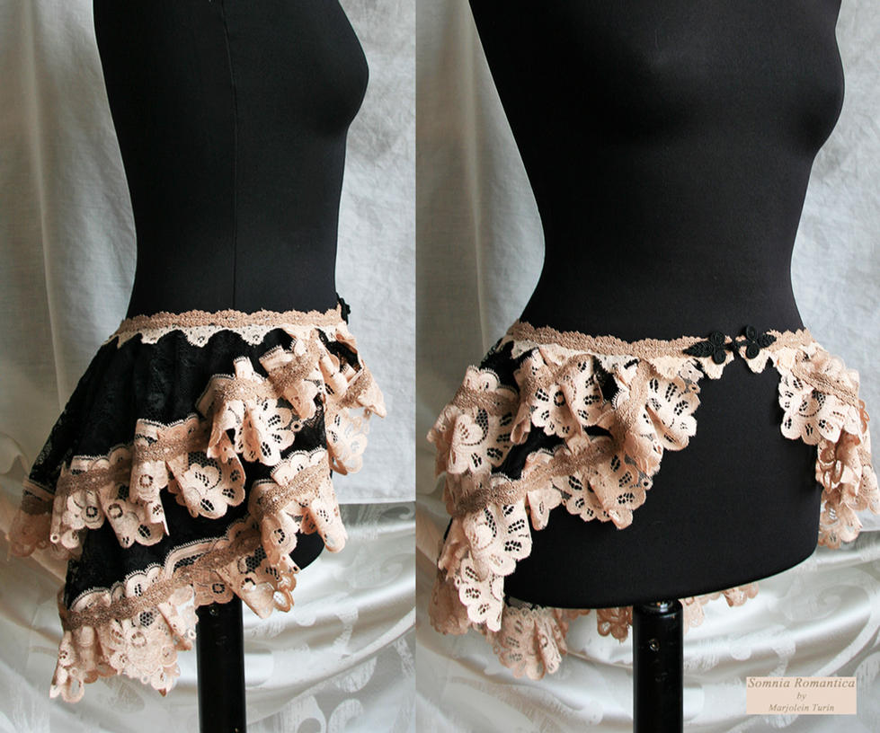 bustle skirt Segura 6 Somnia Romantica by M Turin by SomniaRomantica
