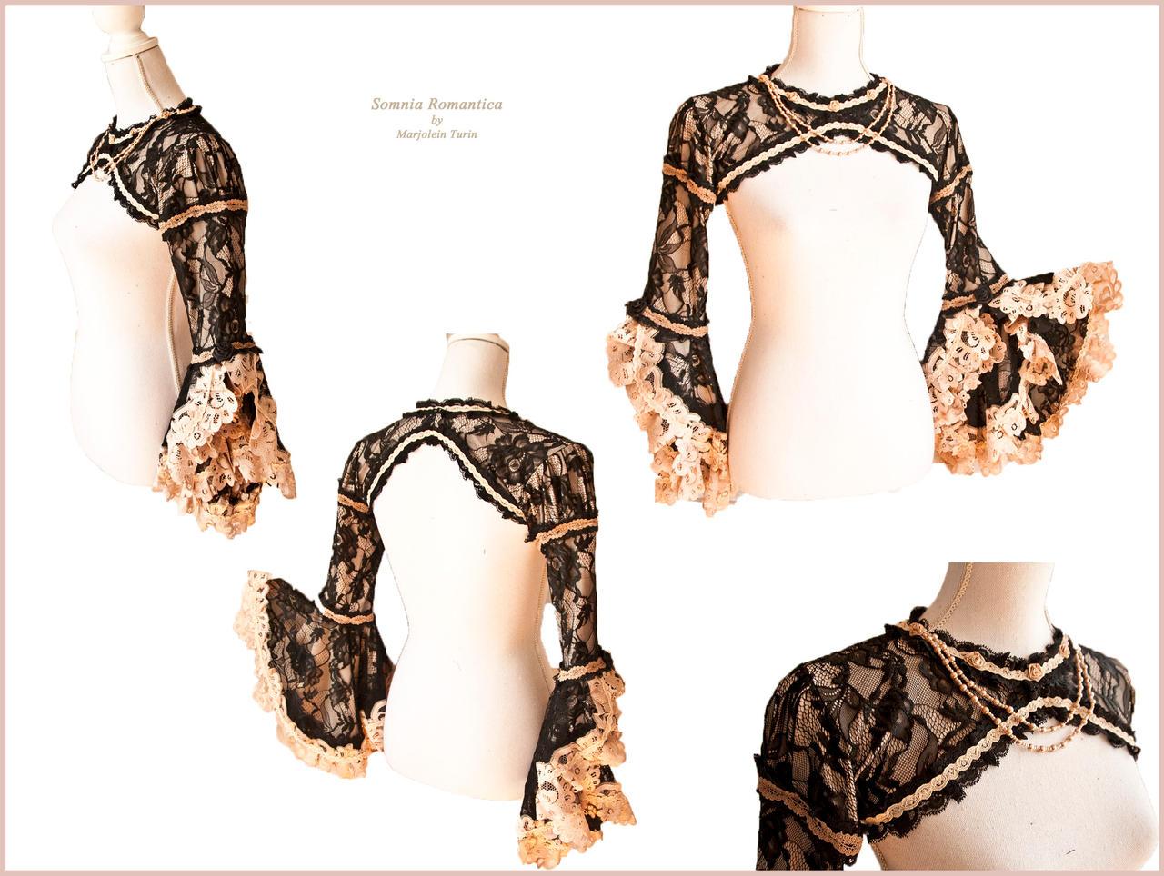bolero lace 6b, Somnia Romantica by M Turin by SomniaRomantica