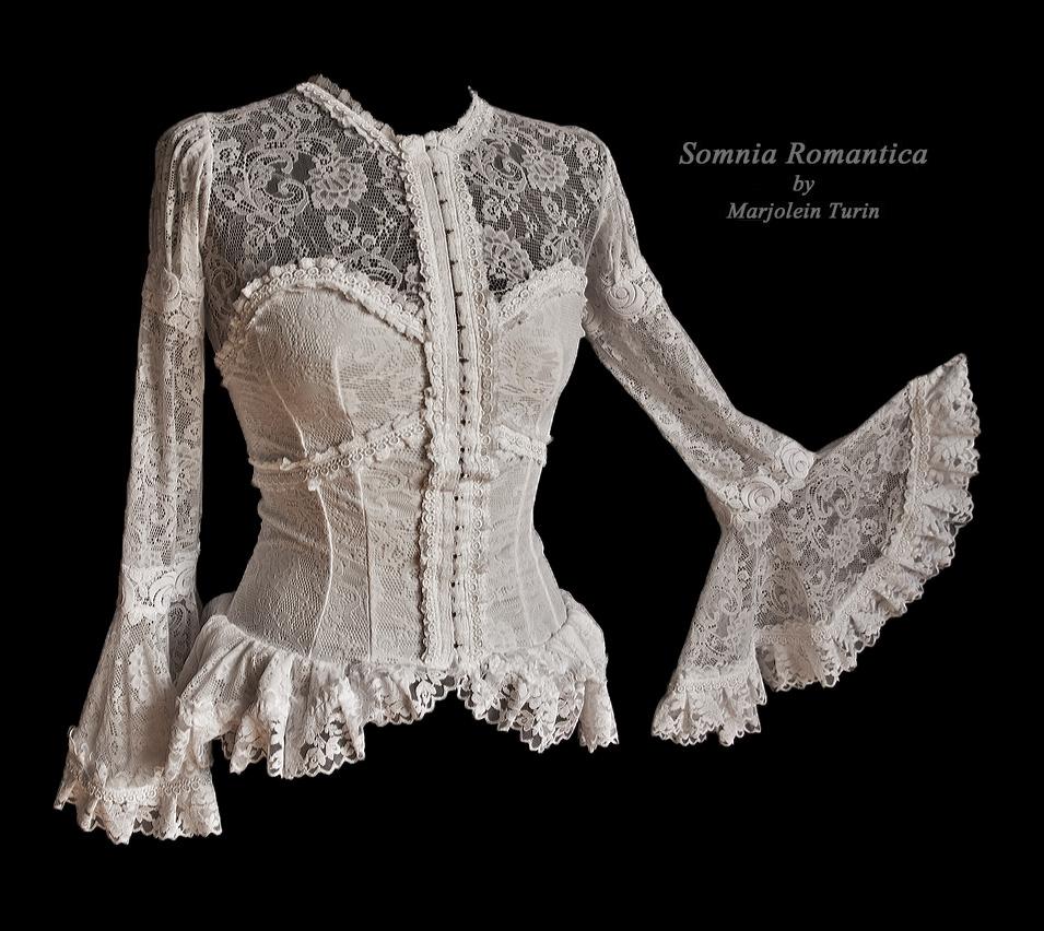 Blouse Lausanne2, Somnia Romantica by M. Turin by SomniaRomantica