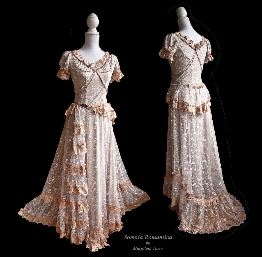 Dress Elbe, Somnia Romantica by Marjolein Turin by SomniaRomantica