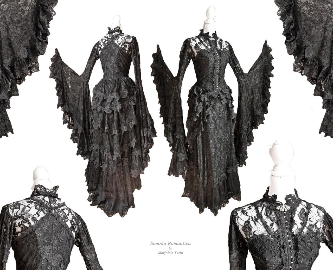 Dress Cornacchia, Somnia Romantica by M. Turin by SomniaRomantica