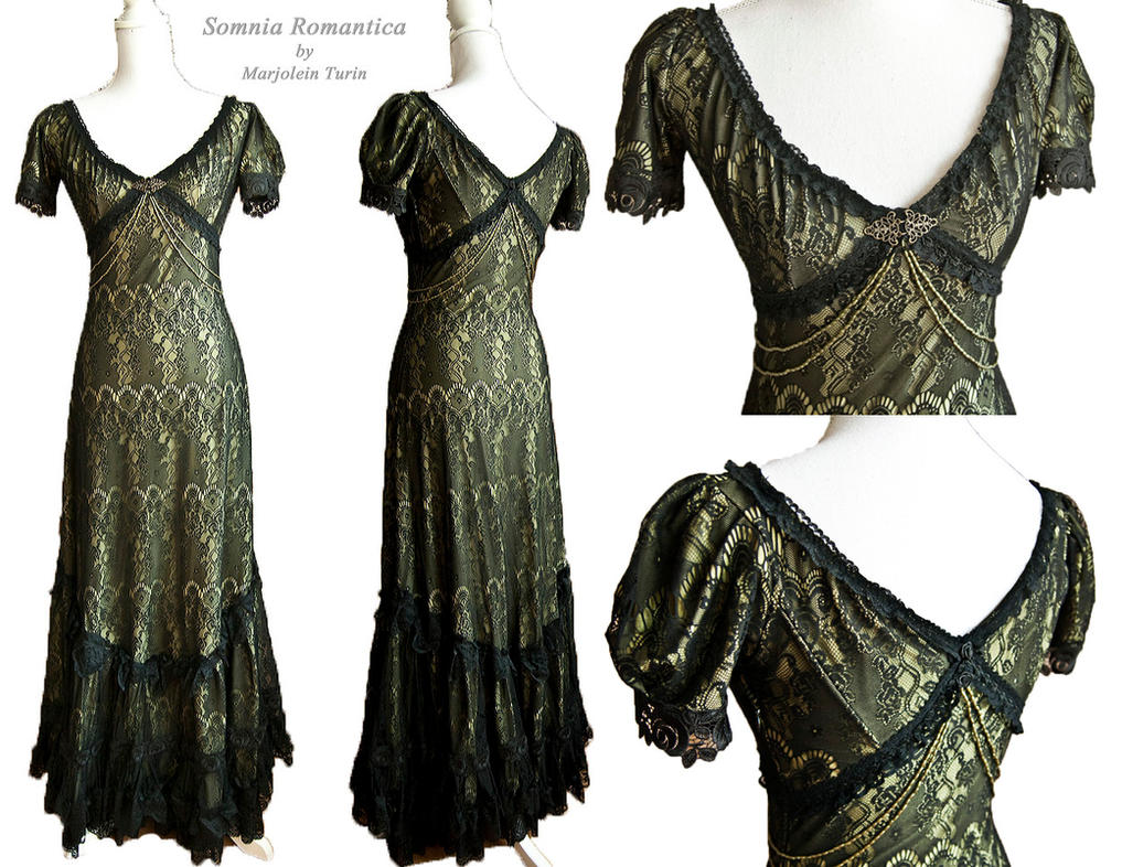 Korinthe dress, Somnia Romantica by M. Turin by SomniaRomantica