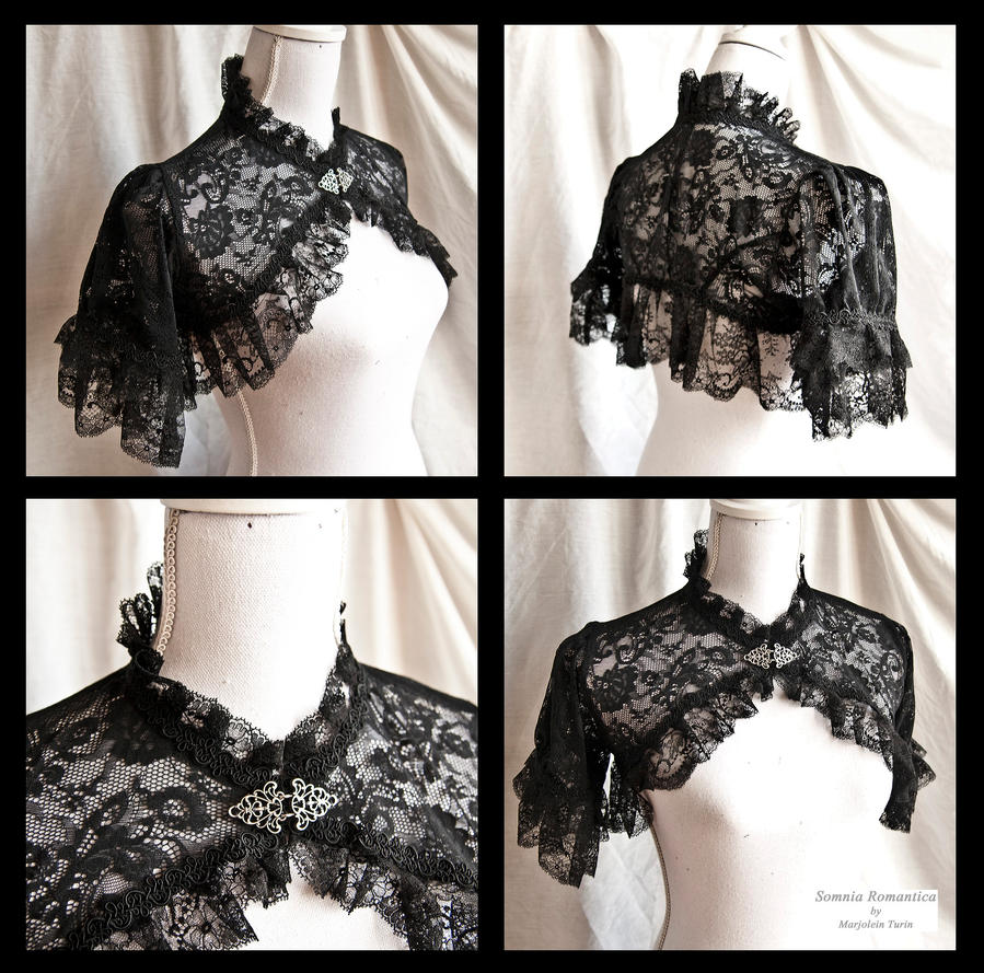 Shrug Lace, Somnia Romantica by Marjolein Turin by SomniaRomantica