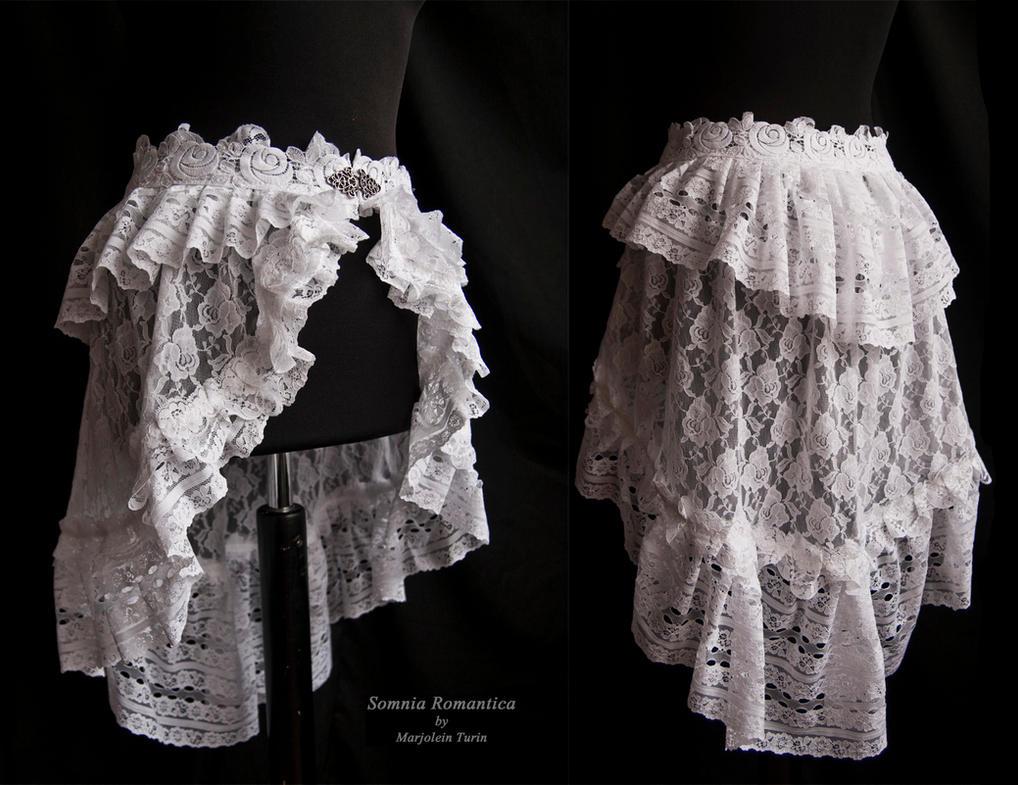 Bustle skirt Agueda, Somnia Romantica by M. Turin by SomniaRomantica