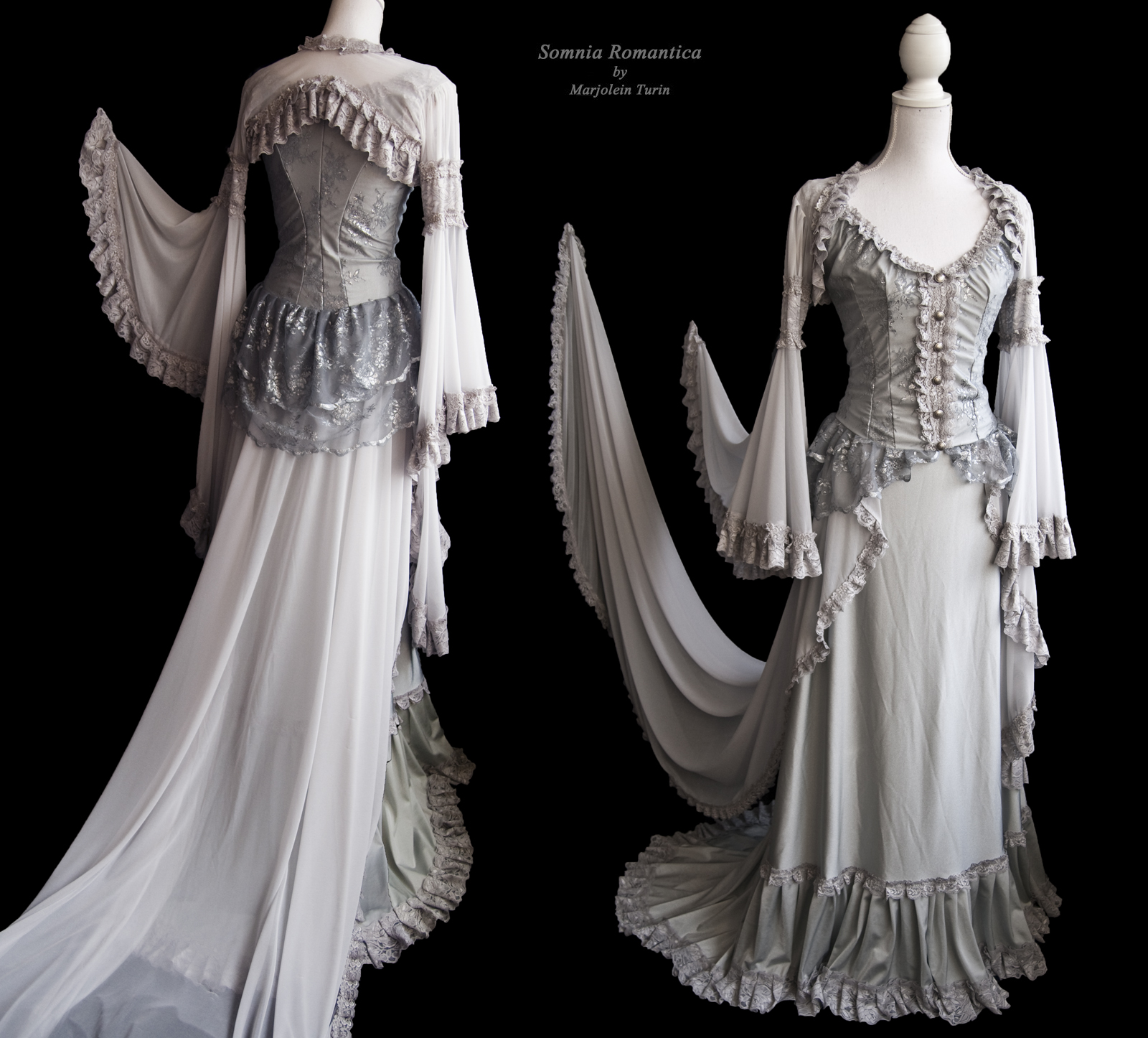 Angelic dress, Somnia Romantica by Marjolein Turin by SomniaRomantica