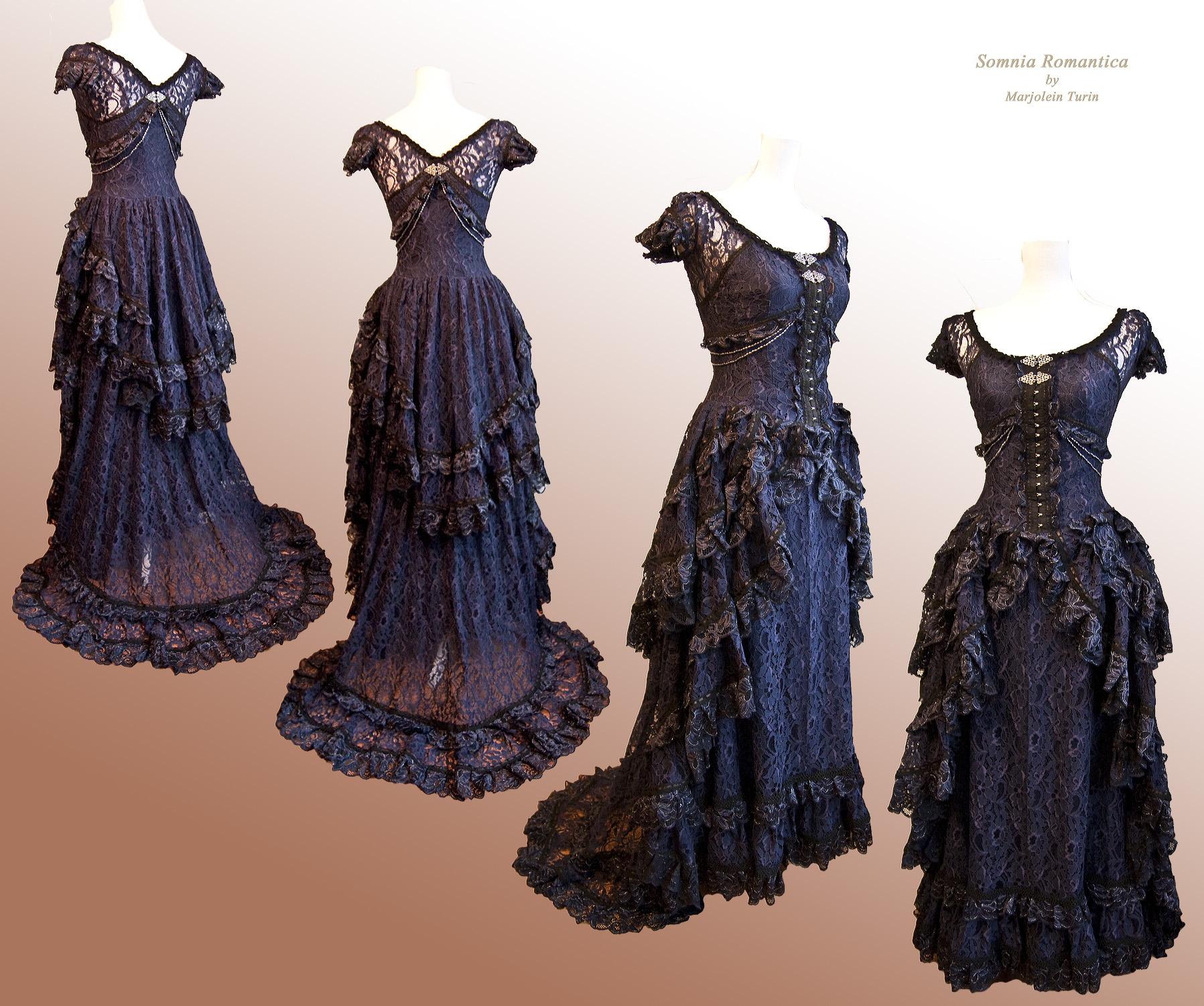 Dress Mariposa 3 Somnia Romantica by M Turin by SomniaRomantica