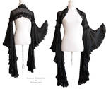 Angelic black shrug, Somnia Romantica by M. Turin