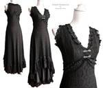 Dress Art Nouveau black, by Somnia Romantica