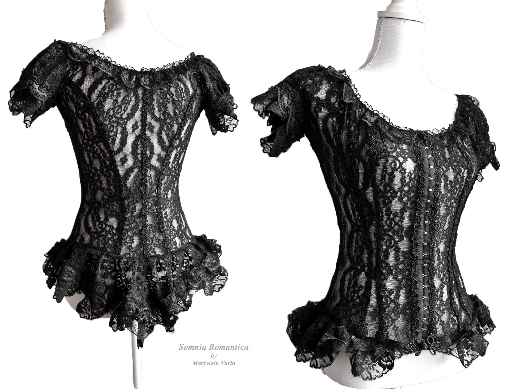 Frances blouse,Somnia Romantica by Marjolein Turin by SomniaRomantica