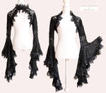 Angelic shrug lace, Somnia Romantica by M. Turin by SomniaRomantica