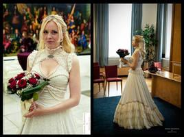 My wedding dress ! Somnia Romantica by M. Turin