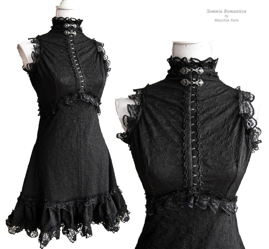 little black dress, Somnia Romantica by M. Turin by SomniaRomantica