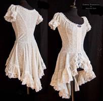 Little ivory dress, Somnia Romantica by M. Turin by SomniaRomantica