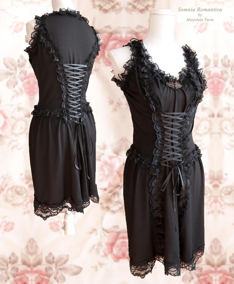 Little black rock dress, by Somnia Romantica by SomniaRomantica