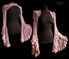 Shrug heather lace, Somnia Romantica by M. Turin by SomniaRomantica
