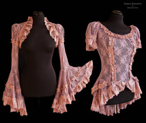 shrug and top heather, Somnia Romantica by M.Turin