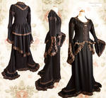 Steampunk Victorian dress, by Somnia Romantica