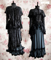Dark victorian ensemble, Somnia Romantica by SomniaRomantica