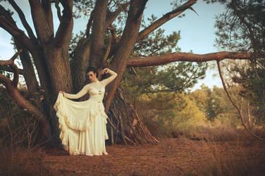 Victorian autumn gown,Somnia Romantica by M. Turin by SomniaRomantica