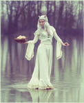 Ivory Art Nouveau Dress, by Somnia Romantica