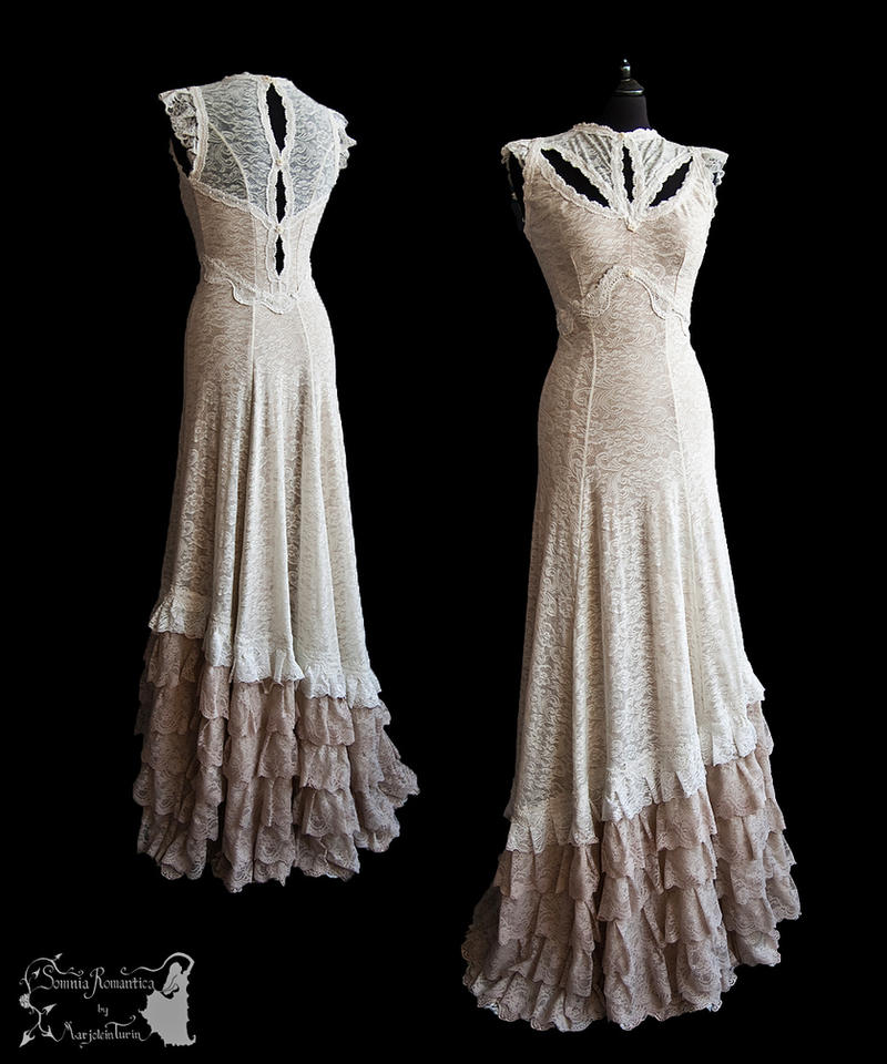 Dress Illicens Ivory Somnia Romantica By M Turin By SomniaRomantica On Devi