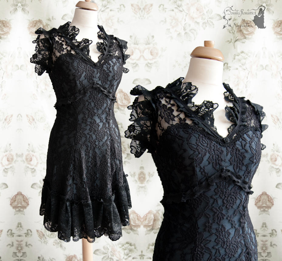 Dress Illicens LBD Somnia Romantica by M. Turin by SomniaRomantica