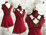 Deep red dress, Somnia Romantica by M. Turin