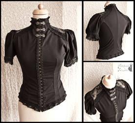 Malacia-Devota-blouse-lace-somnia-romantica-marjol by SomniaRomantica