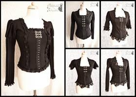 Black blouses, Somnia Romantica by M. Turin by SomniaRomantica