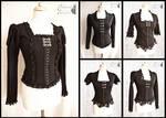 Black blouses, Somnia Romantica by M. Turin