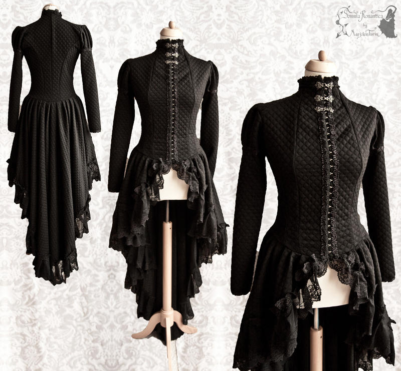 Cardigan black Somnia Romantica by M. Turin by SomniaRomantica