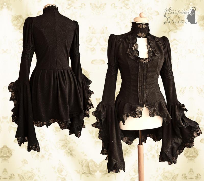 Noctua blouse I, Somnia Romantica by M. Turin by SomniaRomantica