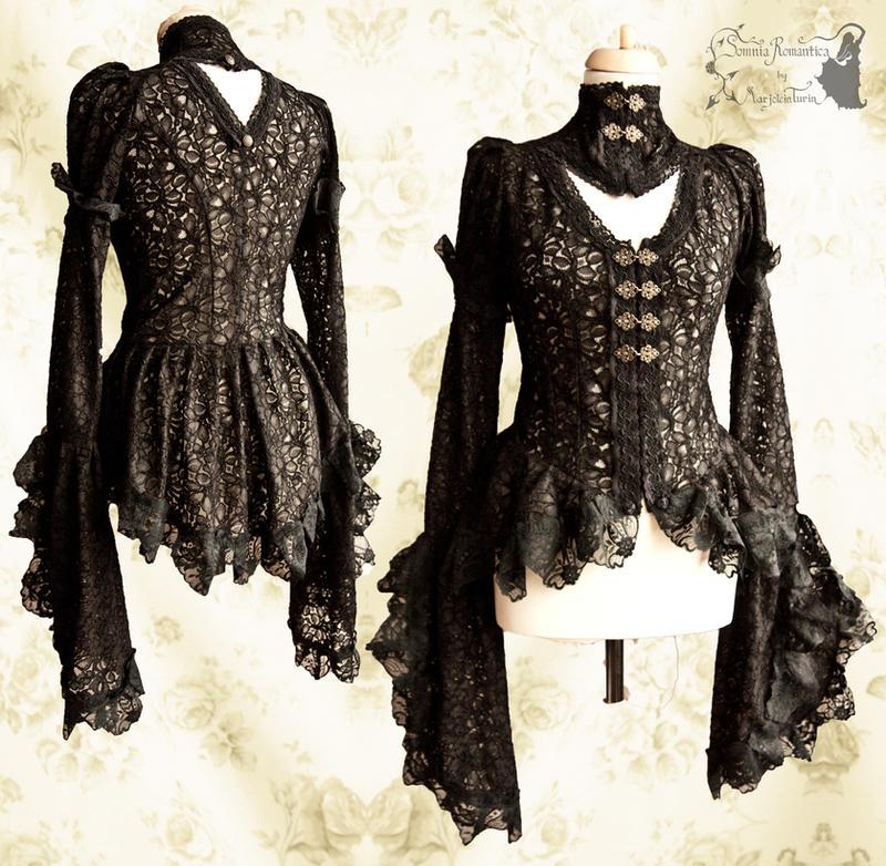 Noctua blouse, Somnia Romantica by M. Turin by SomniaRomantica