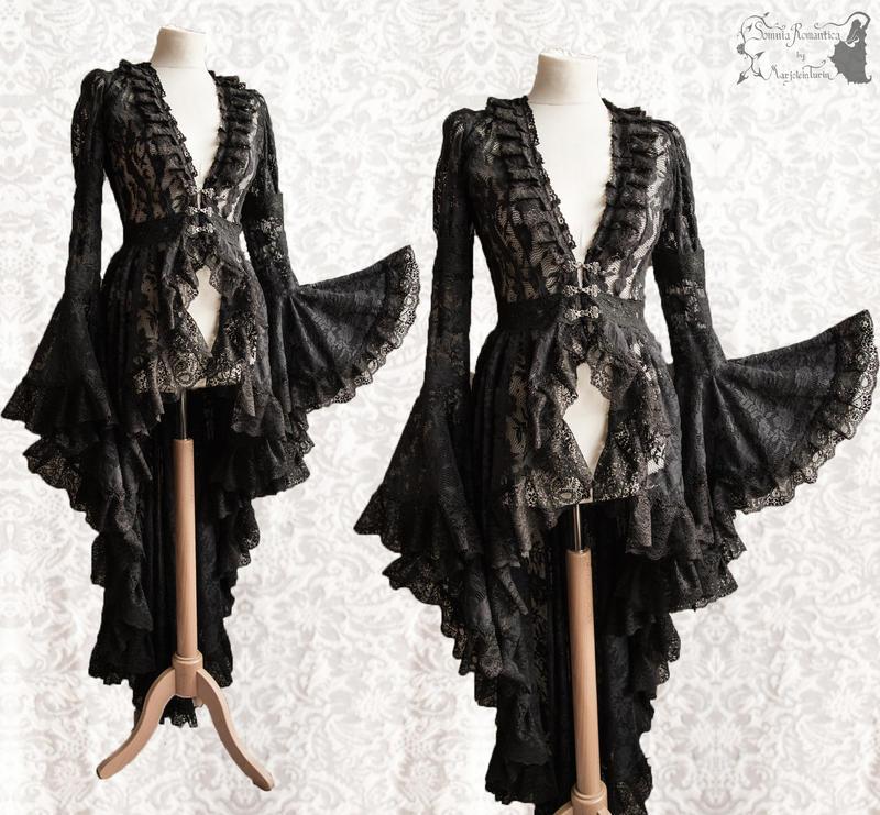 Malacia-Maeror-robe-black-somnia-romantica-marjole by SomniaRomantica