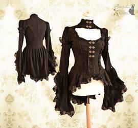 Noctua blouse V Somnia Romantica by M. Turin by SomniaRomantica