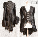 Blouse black lace, Somnia Romantica by M. Turin