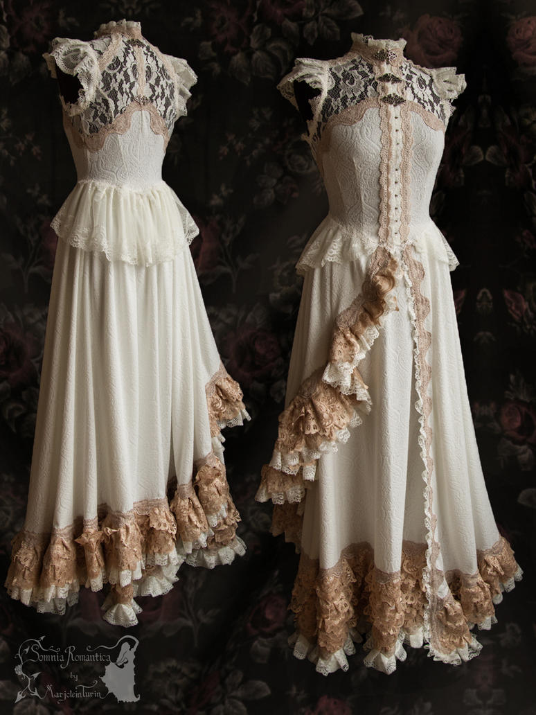 Dress 1 fashion show Somnia Romantica, M. Turin by SomniaRomantica
