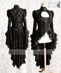 Cardigan victorian gothic steampunk dark romantic
