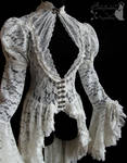 Romantic lace waistcoat, dreamy, ghostly, victo