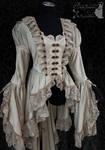 victorian steampunk art nouveau waistcoat