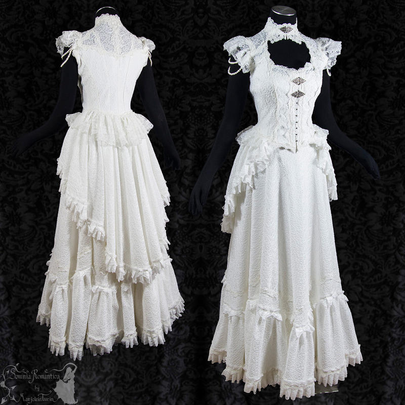 Victorian Art Nouveau bridal gown,Somnia Romantica by ...