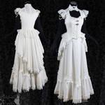 Victorian Art Nouveau bridal gown,Somnia Romantica
