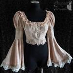 Romantic Victorian Art Nouveau bolero jacket
