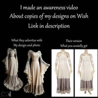 I made a video about copies of my designs on wish